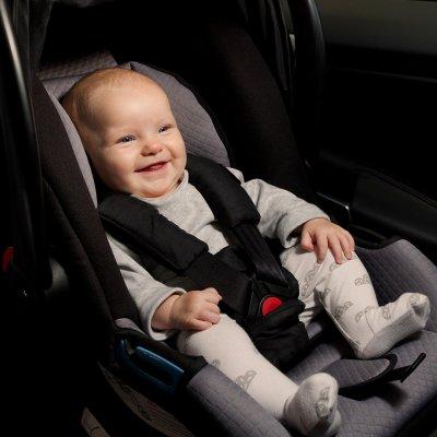 Siège auto coque bébé protect noir et beige - groupe 0 Mountain buggy
