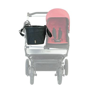 Sac de transport joey avec fourre-tout et base pour poussette duet version2 Mountain buggy