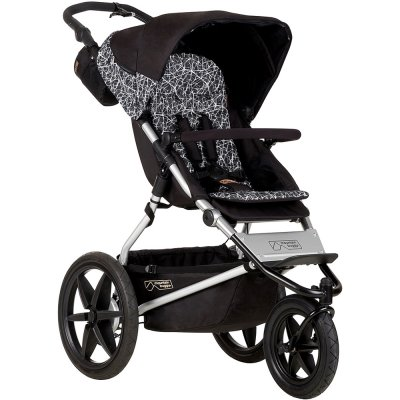 Poussette 3 roues terrain version 3 graphite Mountain buggy