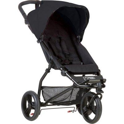 Poussette 3 roues mini black Mountain buggy