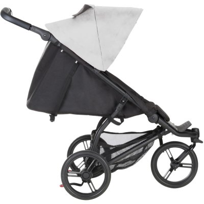 Poussette 3 roues mini silver Mountain buggy