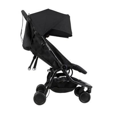 Poussette double canne nano noir Mountain buggy