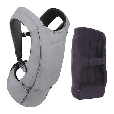 Porte bébé physiologique juno charcoal Mountain buggy
