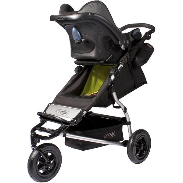 Adaptateur poussette du siège auto travel system swift ou mini pour coque pebble Mountain buggy