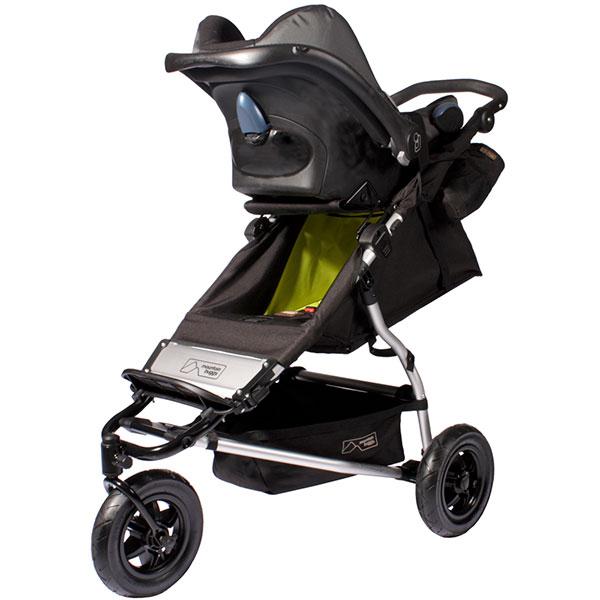 Adaptateur poussette pour siège auto travel system urban jungle ou terrain pour coque Mountain buggy