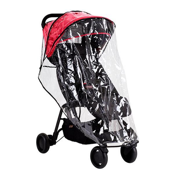 Housse pluie et soleil pour poussette nano Mountain buggy
