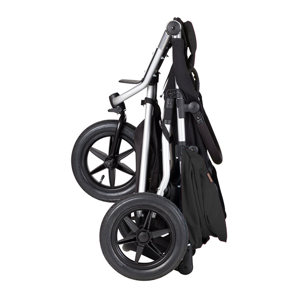 Poussette 3 roues urban jungle version 3 noir Mountain buggy