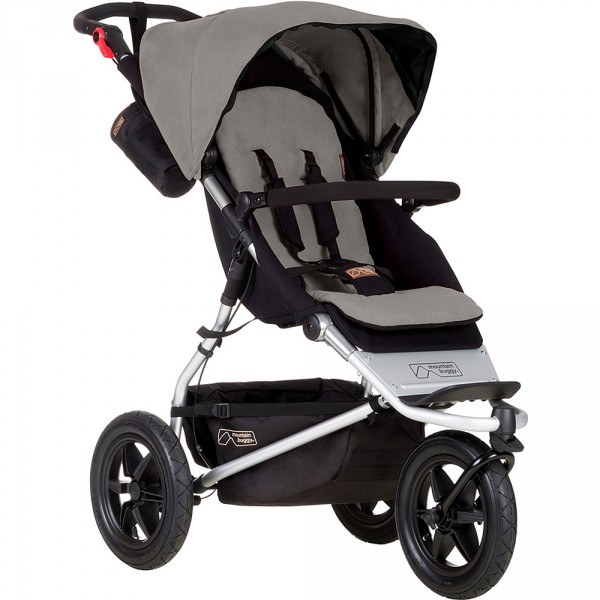 Poussette 3 roues urban jungle version 3 argent Mountain buggy