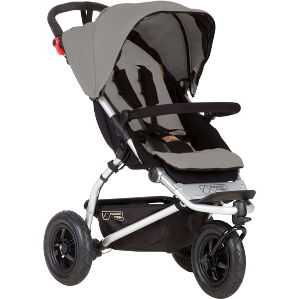 Poussette 3 roues swift silver Mountain buggy