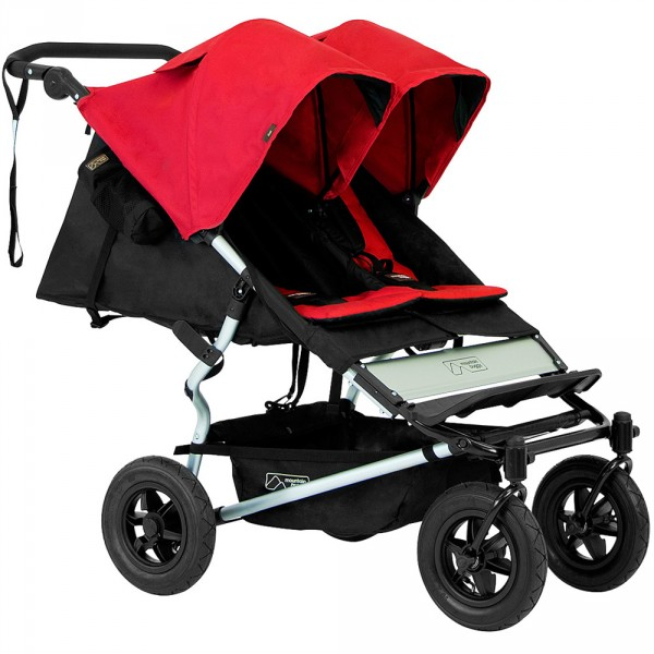 Poussette jumeaux duet chilli version 2.5 Mountain buggy