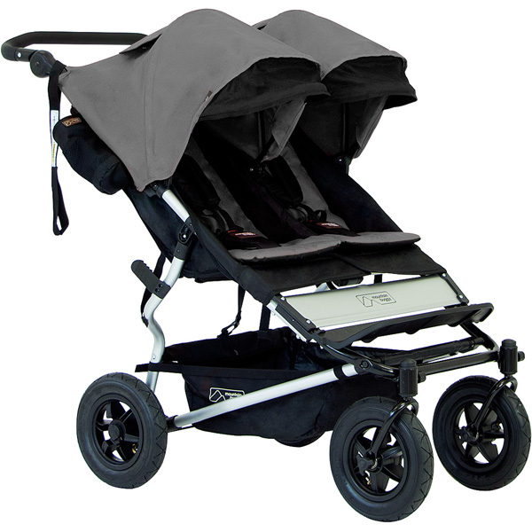 Poussette jumeaux duet flint version 2.5 Mountain buggy