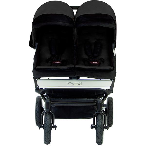 Poussette jumeaux duet black version 2.5 Mountain buggy