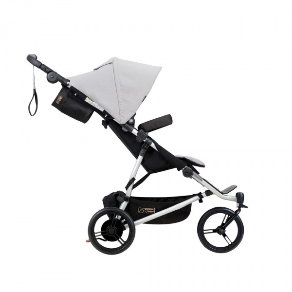 Poussette jumeaux duet silver - version 3 Mountain buggy
