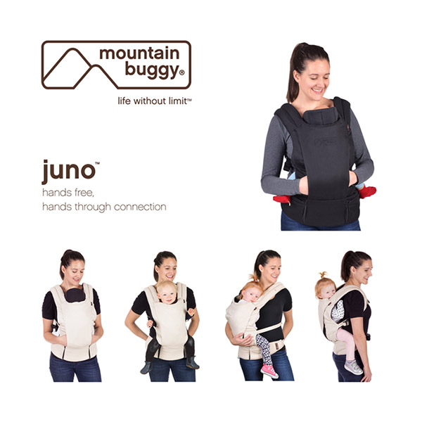 Porte bébé juno black Mountain buggy
