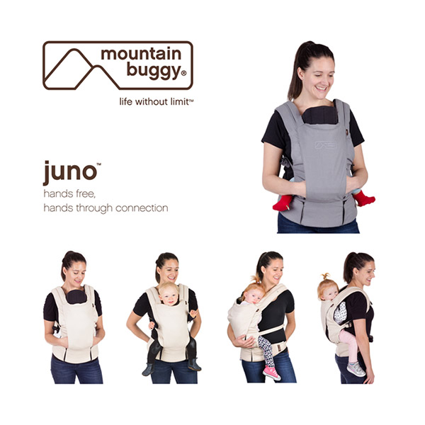 Porte bébé juno charcoal Mountain buggy