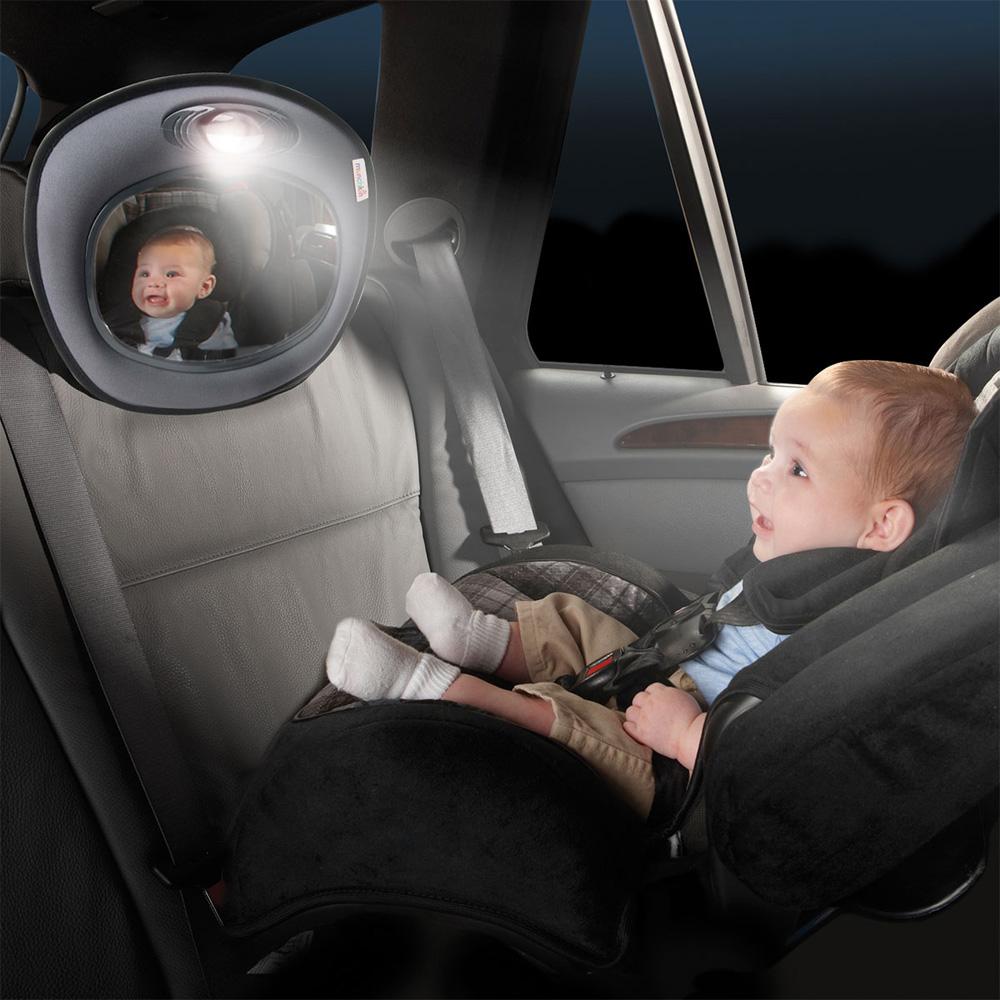 miroir auto musical jour nuit pour b b de munchkin. Black Bedroom Furniture Sets. Home Design Ideas