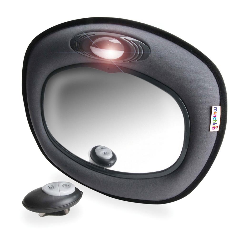 munchkin miroir auto musical jour nuit pour b b de munchkin 2. Black Bedroom Furniture Sets. Home Design Ideas