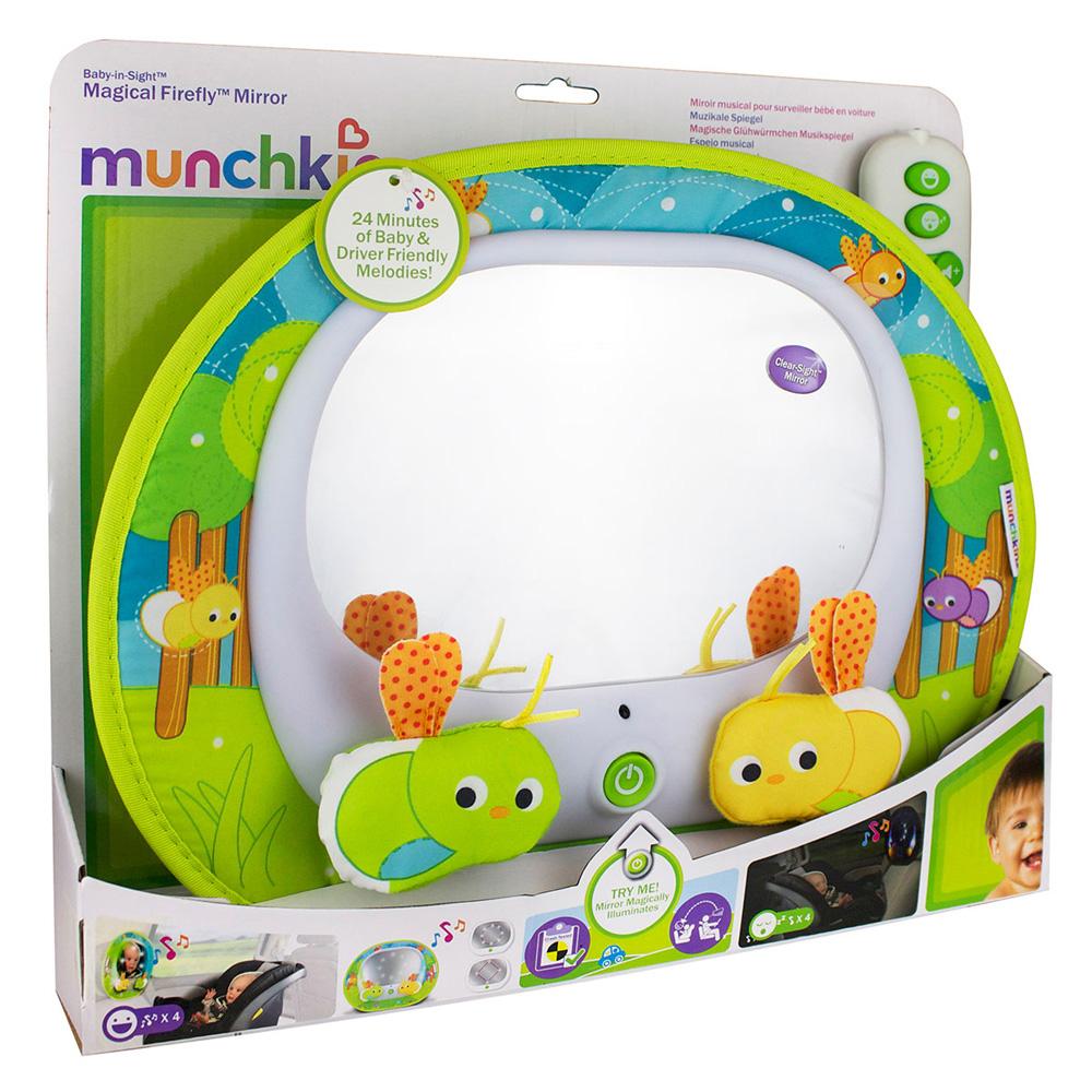 munchkin miroir auto musical led pour b b. Black Bedroom Furniture Sets. Home Design Ideas