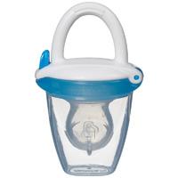 Anneau d'alimentation pour bébé avec la protection 4m+ bleu