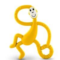 Anneau de dentition singe large matchstick monkey jaune