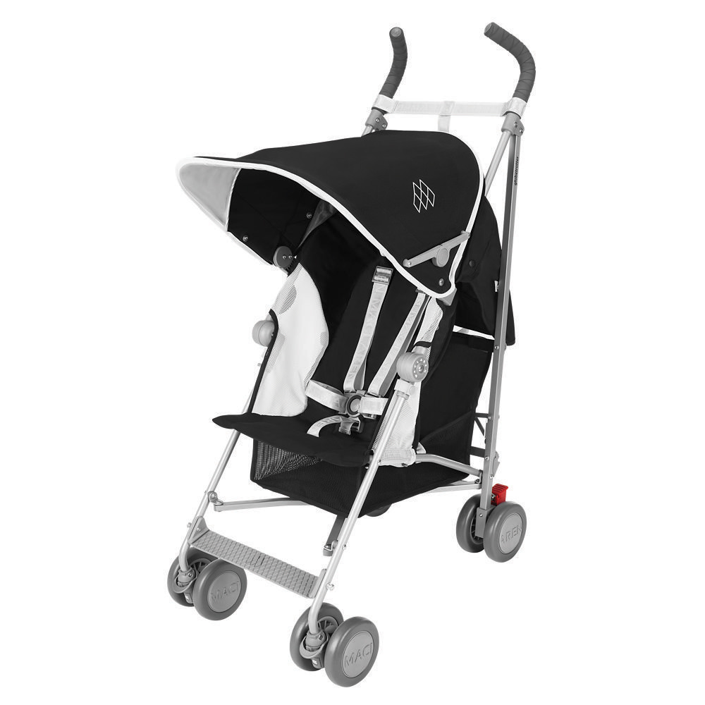 Poussette canne globetrotteur black white 10 sur allob b - Poussette canne legere inclinable ...