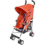Poussette canne triumph orange rush/medieval blue pas cher