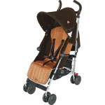 Poussette canne quest sport coffee/burnt orange pas cher