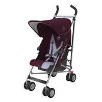 Poussette canne triumph plum grey dawn