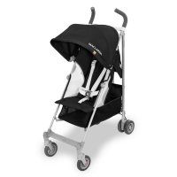 Poussette canne globetrotteur black white