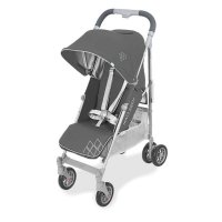 Poussette canne techno arc charcoal/silver