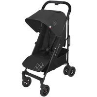 Poussette canne techno arc black/black