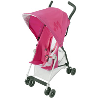Poussette canne mark ii carmine rose
