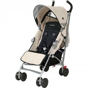 Poussette canne quest linen black
