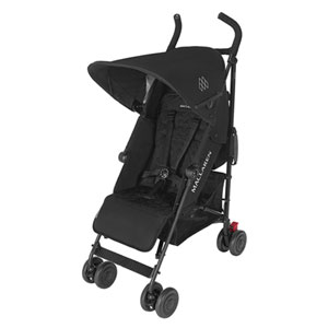 Poussette canne quest black black
