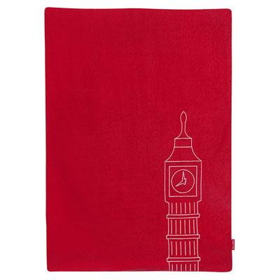 Maclaren Couverture bébé reversible buggy blanket scarlet/london