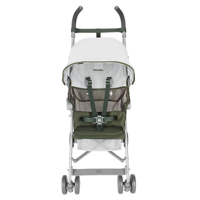 Poussette canne volo silver highland green Maclaren