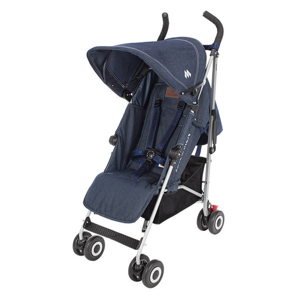 Poussette canne quest denim indigo Maclaren