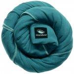 Echarpe de portage sling turquoise