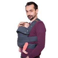 Porte bébé marsupi gris taille xl