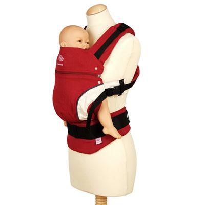 Porte bébé ventral manduca rouge Manduca
