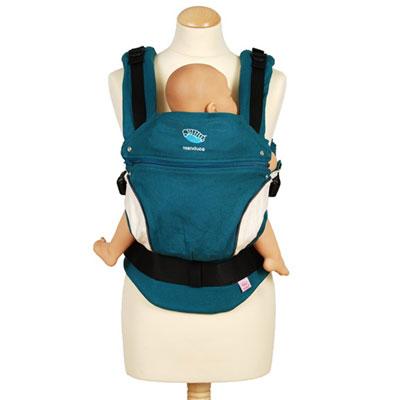 Porte bébé ventral manduca bleu Manduca