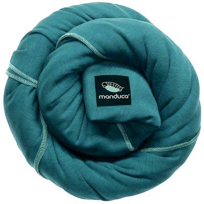 Echarpe de portage sling turquoise Manduca