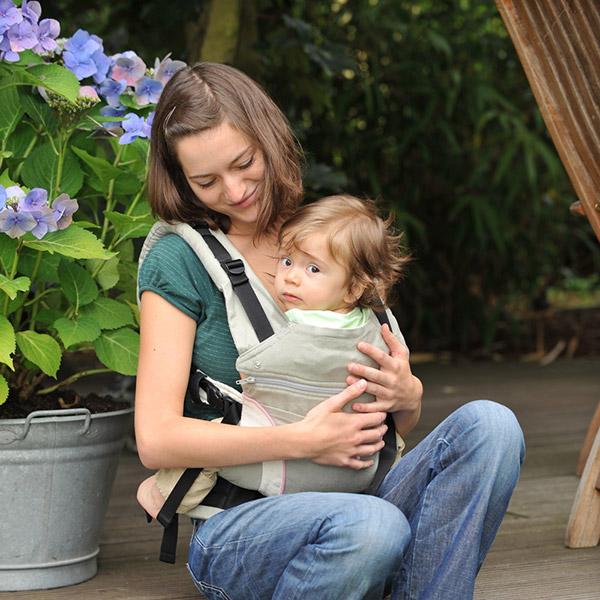 Porte b b ventral manduca noir 20 sur allob b - Code promo je porte mon bebe ...