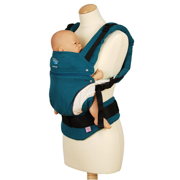 Porte bébé manduca bleu Manduca