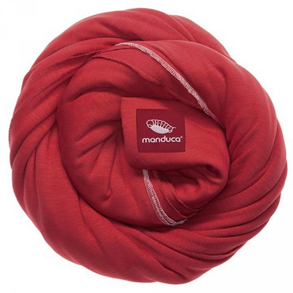 Echarpe de portage sling rouge Manduca