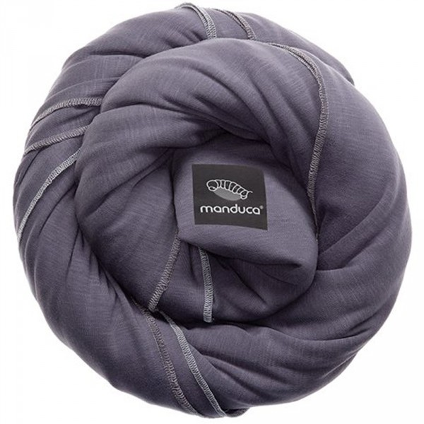 Echarpe de portage sling gris Manduca