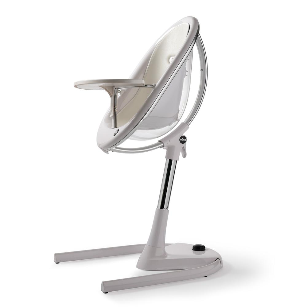 assise b b pour la chaise haute moon snow white de mima chez naturab b. Black Bedroom Furniture Sets. Home Design Ideas