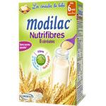 Modilac nutrifibres 8 céréales 300 g dès 6 mois pas cher