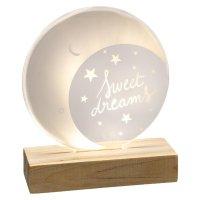 Lampe plexi lune