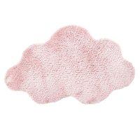 Tapis de chambre nuage rose